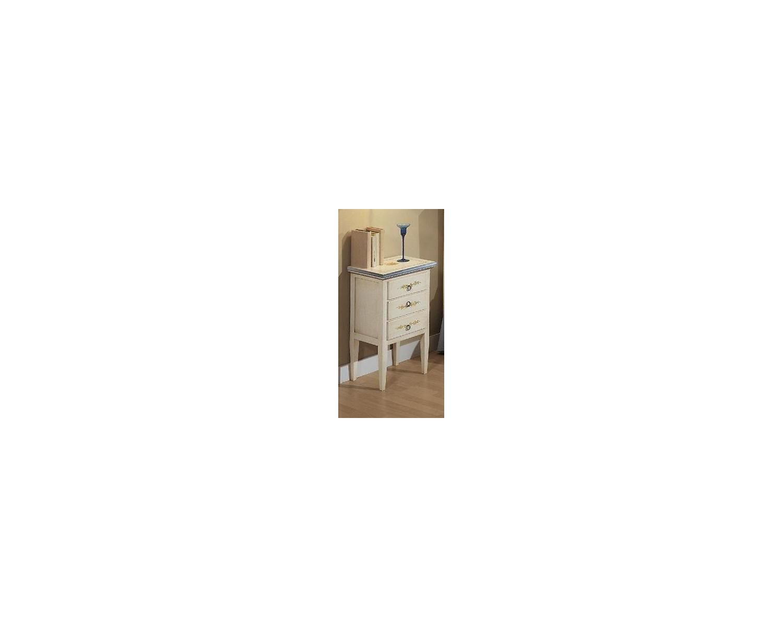 bettside fach holz von hand verziert alten land collection. Black Bedroom Furniture Sets. Home Design Ideas