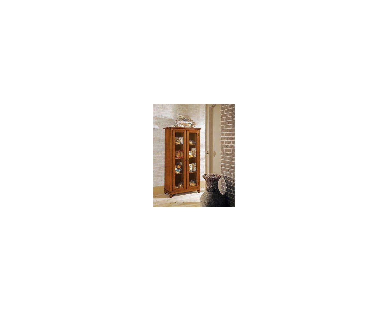 Mobile vetrina dispensa legno massello for Dispensa legno