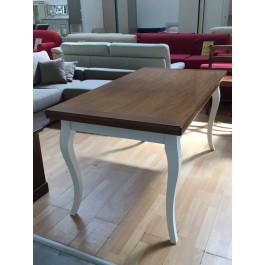 TABLE TWO TONE ANTIQUE WOODEN PROVENCAL 180X90 ALLUNGABILELEGNO SOLID