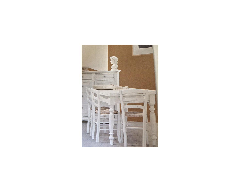 tisch 160x85 all holz matt weiss und 4 st hle as photo. Black Bedroom Furniture Sets. Home Design Ideas