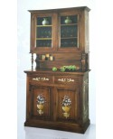 DECORATED WINDOW DRESSER BASE + LIFT WOODEN DECORATED