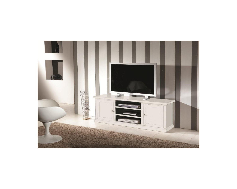 Mobili In Legno Bianco : Porta tv legno bianco opaco codluis
