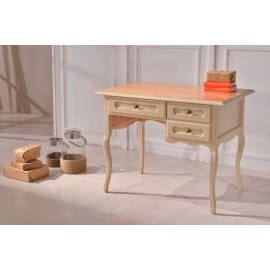 WRITING DESK TABLE IN WOOD CERATA BICOLORE VARIOUS COLORS