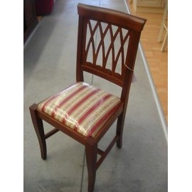 2 PIECE KITCHEN CHAIR WOOD ART POOR ROOM CHAIR SOLID VARIOUS COLORS
