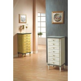 CHEST 7 DRAWERS DEKORIERTE