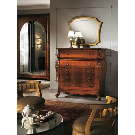 COMO CHEST ROOM WOOD INLAID INTAGLIATOARTIGIANALE