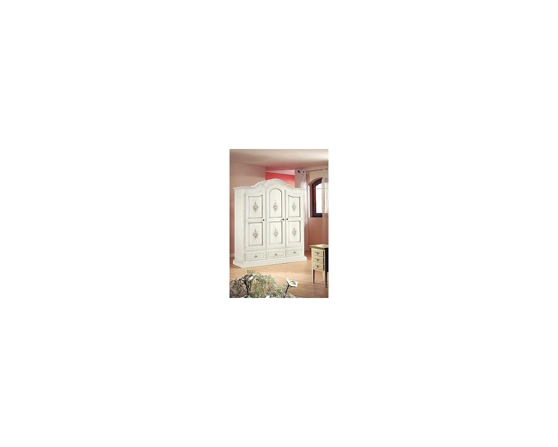 cabinet cabinet 3 portes peintes bois decore matt blanc divoire