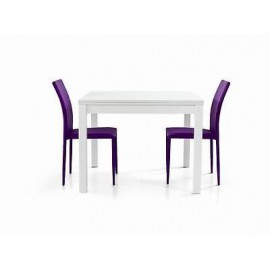 WOOD EXTENDING TABLE MODERN white, ash - X LIVING ROOM KITCHEN TEMP