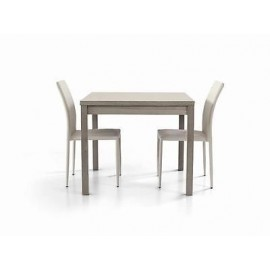MODERN WOOD EXTENDING TABLE gray oak - X LIVING ROOM KITCHEN TEMP