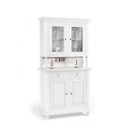 FEATURED Cristalliera DRESSER WHITE MATT WOOD PRODUCTS VENETO X HALL KITCHEN