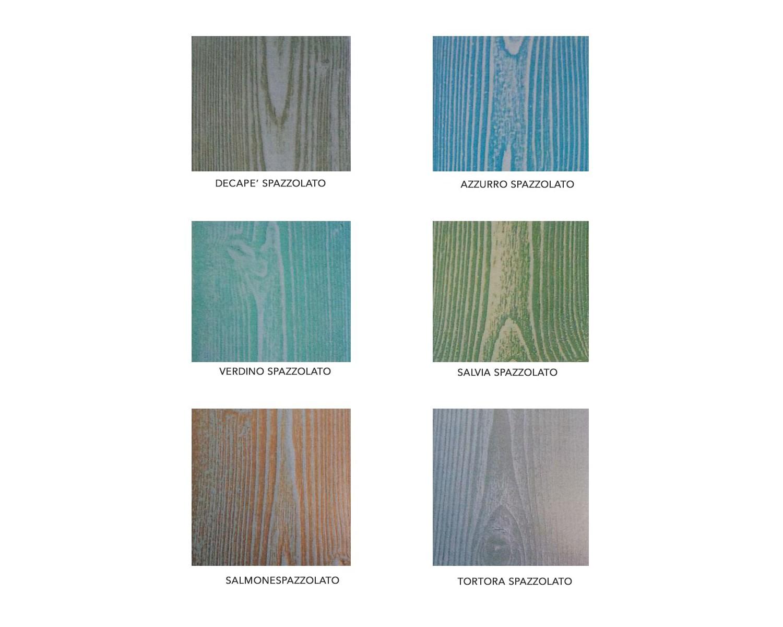 Credenza Arte Povera Beige : Credenza bicolore legno massello bianco anticato e noce chiaro