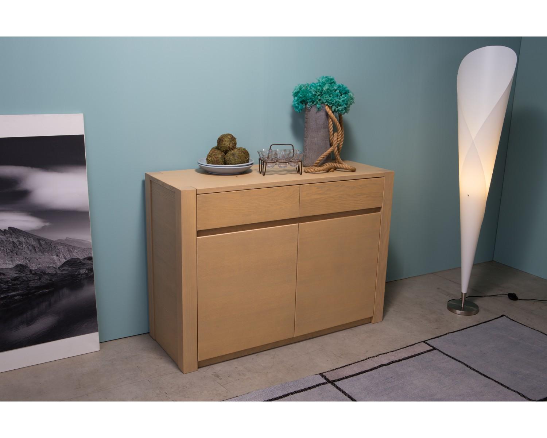 Credenza Avorio Moderna : Credenza legno naturale moderno minimalista