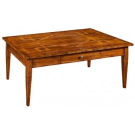 Tavolino IN LEGNO MASSELLO DA SALOTTO L.127 P.78 H.51 VARI COLORI