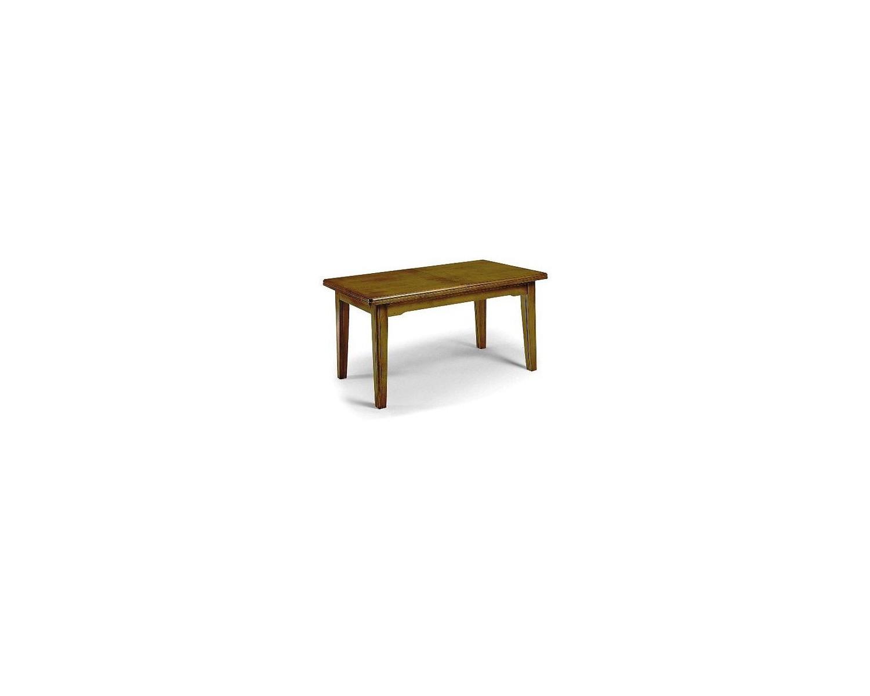 Tavolo allungabile legno massello colore noce scuro for Tavolo legno massello allungabile