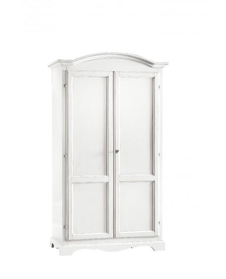 Camera letto armadio 2 ante arte povera laccato bianco opaco for Armadio camera letto