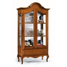 Showcase in L. 104 P. 45 H. 196 various colors solid wood