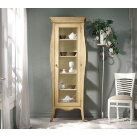 CABINET ANTIQUE IVORY WOOD