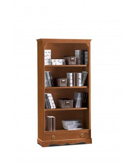 Libreria Legno Prezzi.Mobile Libreria Arte Povera Legno