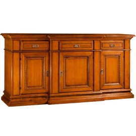 SIDEBOARD 3 DOORS AND DRAWER SOLID WOOD L 234 P 58 H 113