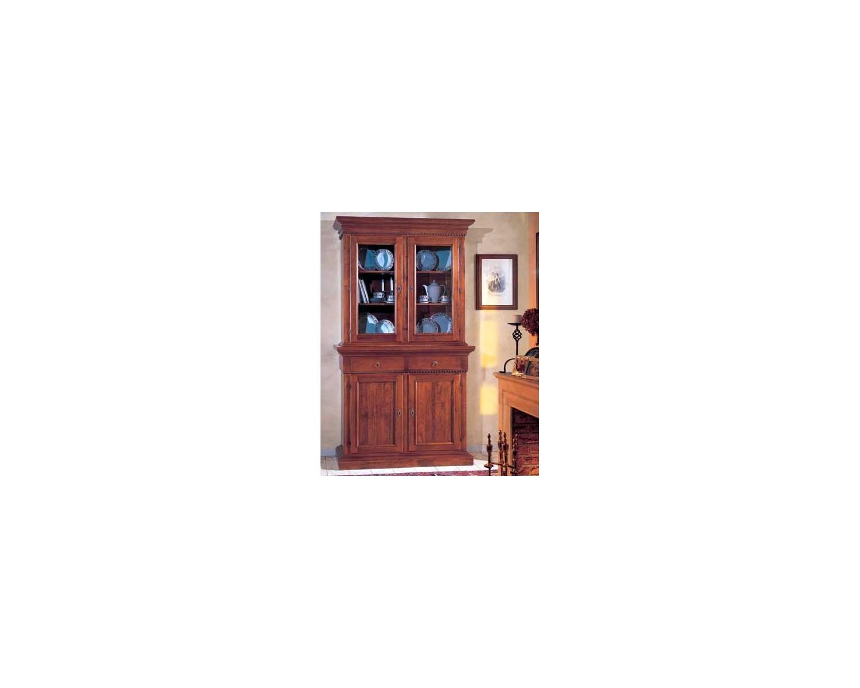 Credenza Arte Povera 4 Ante : Credenza base raised solid wood artigianale l135 p 50 h 228