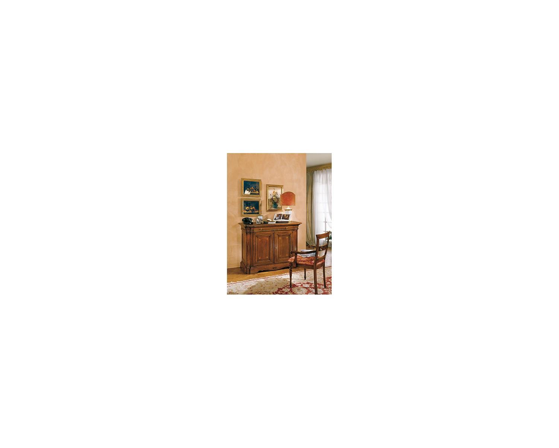 Credenza cabinet style bassano intarsiata solid wood l 133 p 45 h 100 - Mobile credenza ...