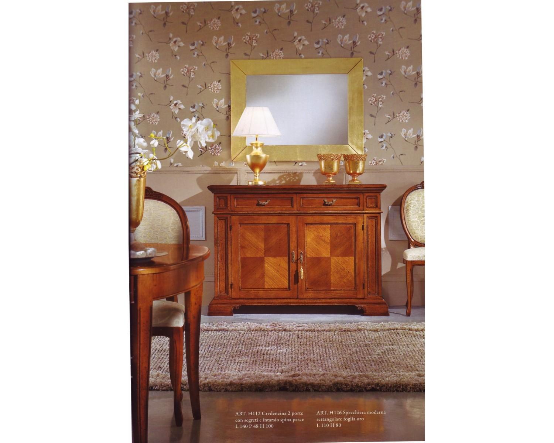 Credenza Con Intarsi : Credenza in legno massello con intarsio e segreto l p h