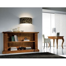 LIBRARY CREDENZA SOLID WOOD L 177 P 40 H 101