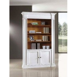 LIBRARY 2 DOORS LACQUERED SOLID