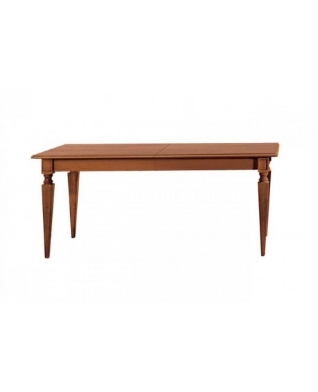 KITCHEN TABLE RECTANGULAR EXTENDING SOLID WOOD