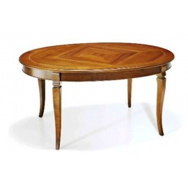 EXTENDING TABLE OVAL SOLID