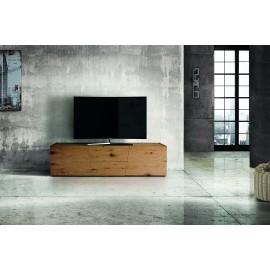 PORTA TV 165x45 ROVERE NODATO SPAZZOLATO