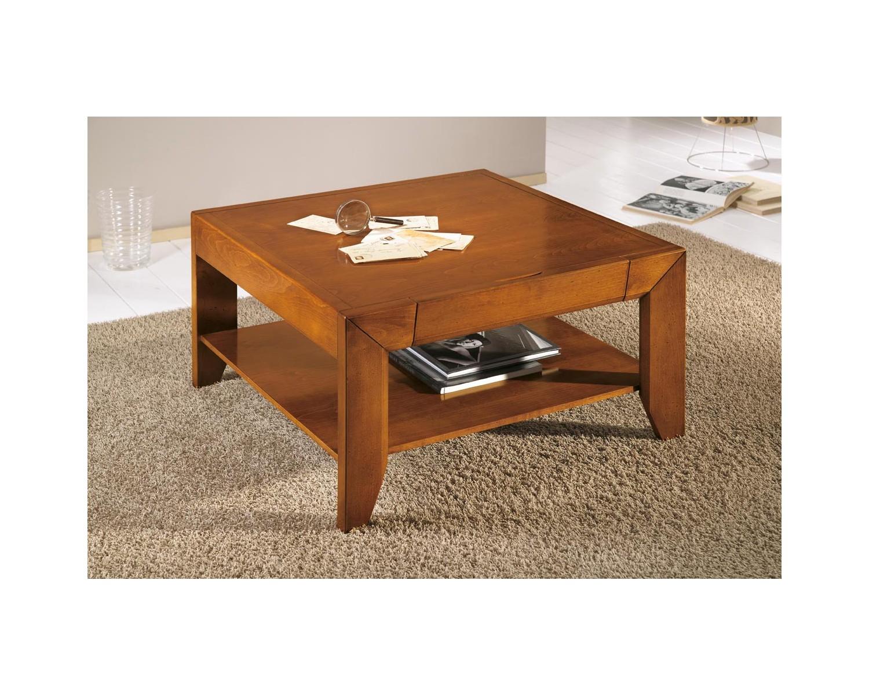 Tavolo basso salotto quadrato legno massello vari colori - Tavolo quadrato legno ...