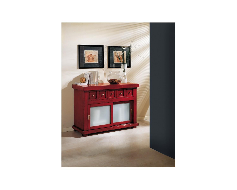 Credenza Bassa Arte Povera Bianca : Credenza dispensa vetrina country design laccato bianco legno massello
