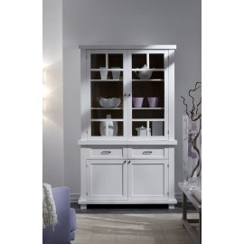 BELIEF PANTRY CABINET WOOD COUNTRY DESIGN MATT WHITE