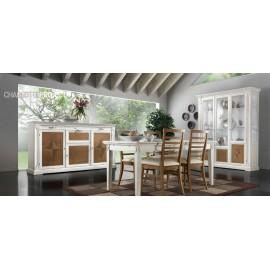 sala completa in legno massello vari colori