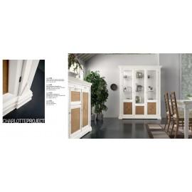 vetrina in legno massello vari colori L177,50 p 48 h 212,50
