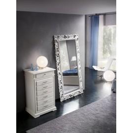 specchio in legno massello vari colori dimensione 207x107