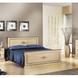 letto legno massello decorato a mano - vari colori vari decori