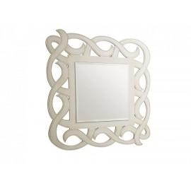 Specchio quadrato in legno vari colori 98x98