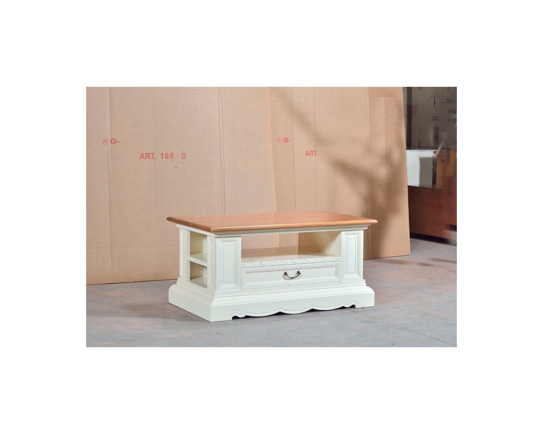 Tische Und Schreibtische Consolleno Fur Wohnzimmer Holz Bicolore Codluis 1024