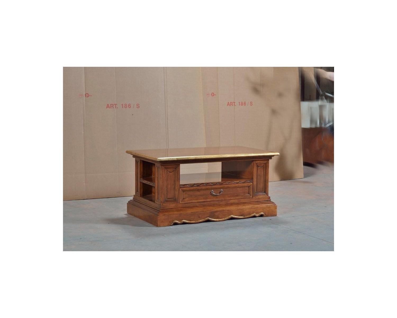 Tavolini Da Salotto In Legno Massiccio : Tavolino basso da salotto in legno massello