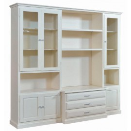 WALL ROOM DOOR TV CABINET WITH WHITE IVORY - codluis 1060