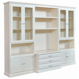 WALL ROOM DOOR TV CABINET WITH WHITE IVORY - codluis 1062