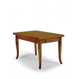 BOIS TABLE AVEC INTASIO PROLONGATION GREC COULEURS DIVERS SUR LA TABLE
