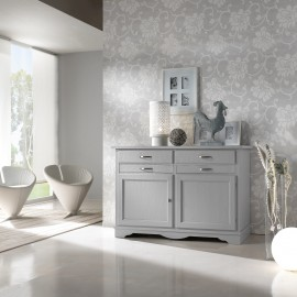 BELIEF COUNTRY PROVENCAL PAINTED GRAY - VENETO SOLID WOOD