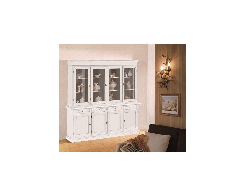 Credenza Con Cristalliera : Cristalliera dekorateur lift mit matt weiss holz codluis