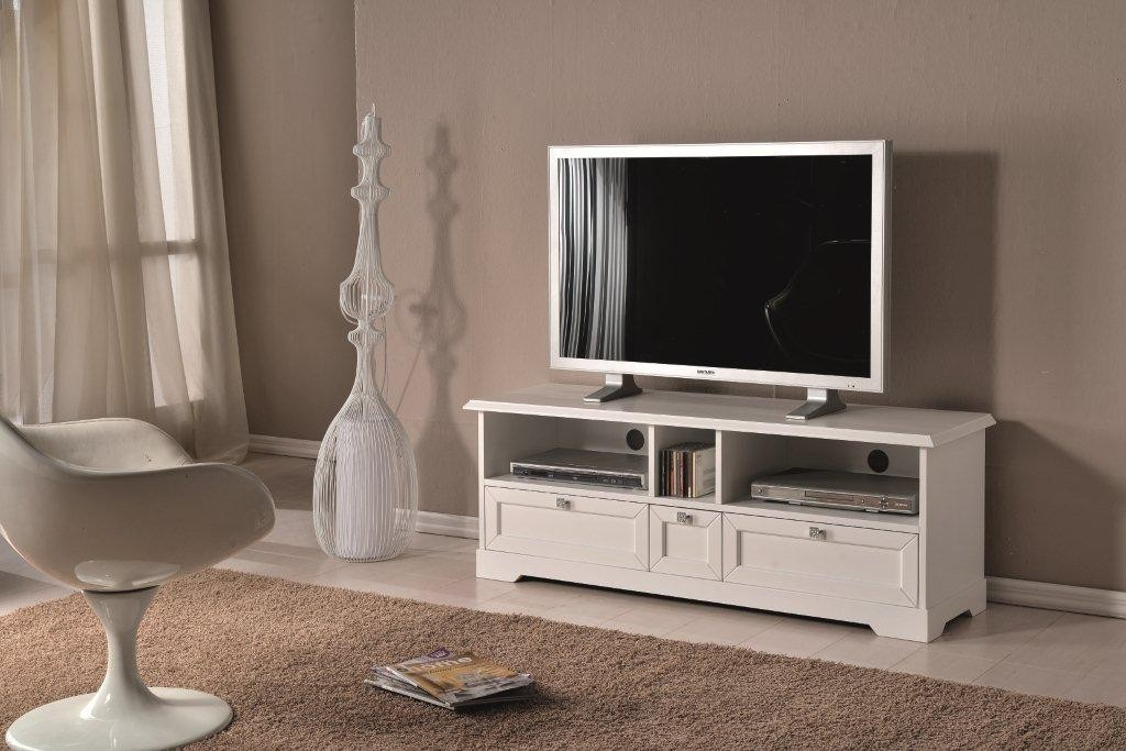 Mobile Tv Moderno Bianco : Porta tv legno moderno bianco lucido codluis