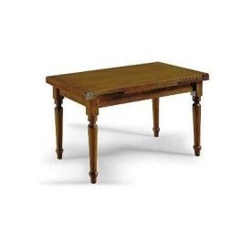 WOOD KITCHEN TABLE EXTENDING STAY ALL WOOD 160x85