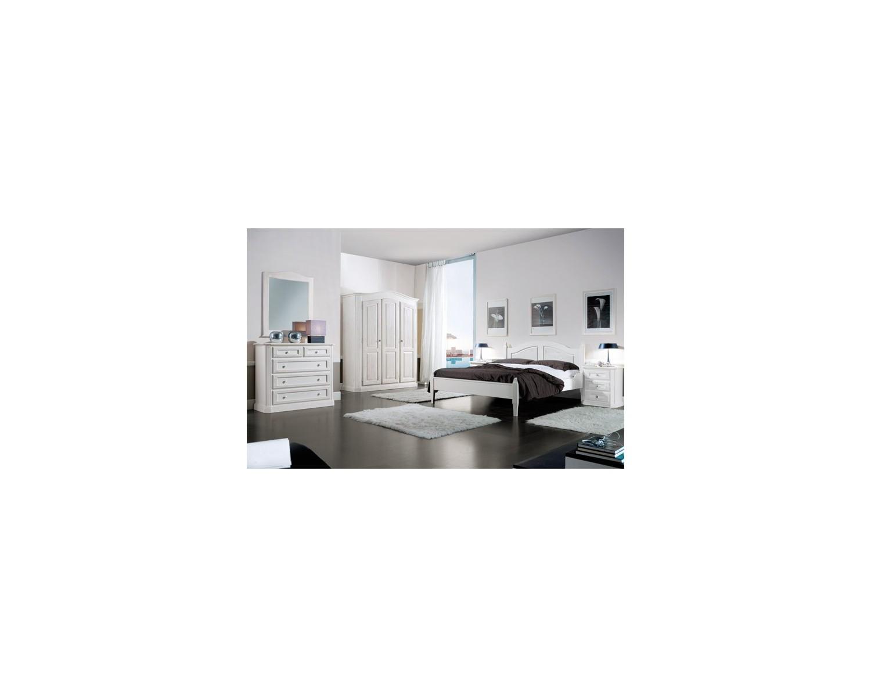 Camera da letto completa legno massello abete come foto for Costo camera da letto completa