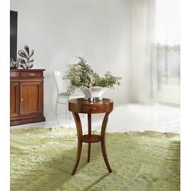 SALON TABLE RONDE 3 LEG BOIS BOIS COULEURS DIVERS